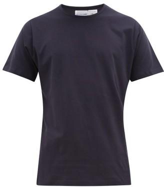 Comme des Garcons Crew-neck Cotton-jersey T-shirt - Mens - Navy