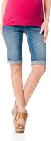 Motherhood Secret Fit Belly Flap Pocket Maternity Bermuda Shorts