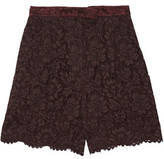 Valentino Corded Lace Shorts