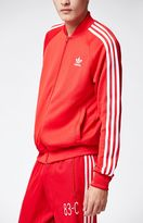 adidas Superstar Red & White Track Jacket