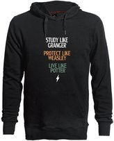 LESSIE Harry Potter Series Brief Style Men's Heavy Cotton Casual Pullover Hoodies L