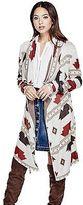 GUESS Women's Sahara Intarsia Maxi Cardigan
