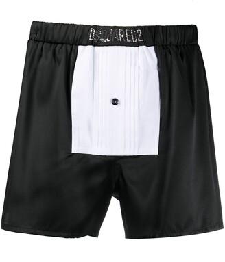 DSQUARED2 Happy New Year tuxedo boxers