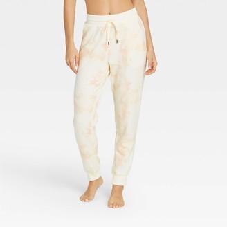 Stars Above Women's Tie-Dye Soft Fleece Lounge Jogger Pants - Stars AboveTM Pink