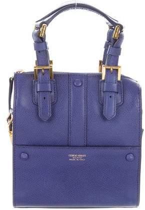 Giorgio Armani Textured Leather Bag