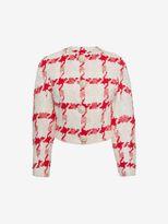 Alexander McQueen Dogtooth Check Jacket
