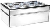 Jay Import Multicolor Gem Glass Jewelry Box