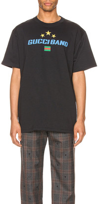 Gucci Band Print Oversize Tee in Medley & MC | FWRD