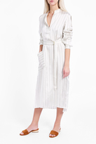Tibi Belt Shirt Dress