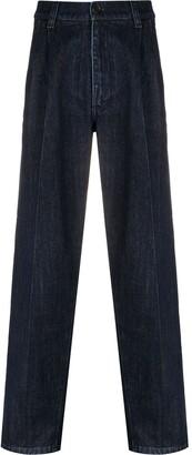 Prada Darted Straight-Leg Jeans