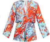 We Are Handsome Jigsaw Long Sleeve Playsuit