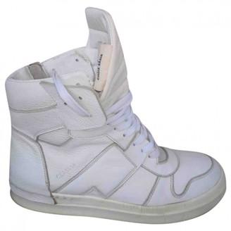Cinzia Araia White Leather Boots