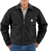 Carhartt Detroit Duck Blanket-Lined Jacket - Factory Seconds (For Big and Tall Men)