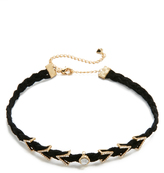 Rebecca Minkoff Pave Chevron Charm Choker Necklace