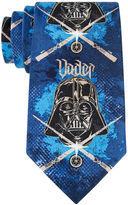 Star Wars STARWARS Darth Vader Stencil Tie