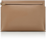 Loewe T Pouch Leather Clutch Bag