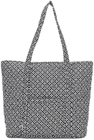 Tricoastal Design Black & White Geometric Quilted Tote
