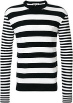 McQ by Alexander McQueen horizontal stripe sweater - men - Cashmere/Wool - S