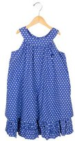 Tartine et Chocolat Girls' Sleeveless Polka Dot Dress