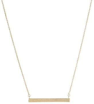 Rivka Friedman 18K Yellow Goldplated Bar Pendant Necklace