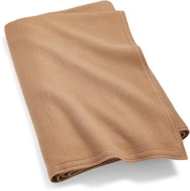 Ralph Lauren Rollins Camel-Hair Bed Blanket