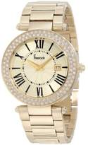 Freelook Women's HA1538GM-3 All Shiny Plated Dial Swarovski Bezel Watch