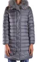 Geospirit Women's Grey Polyester Down Jacket.