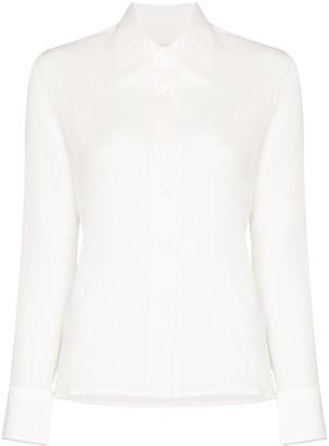 LVIR Crinkled-Effect Shirt