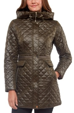 Kate Spade Hooded Quilted Coat