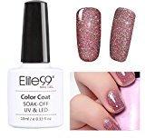 Elite99 Soak Off UV LED Gel Polish Bling Neon Color Nail Varnish Manicure Pedicure 10ML 3709