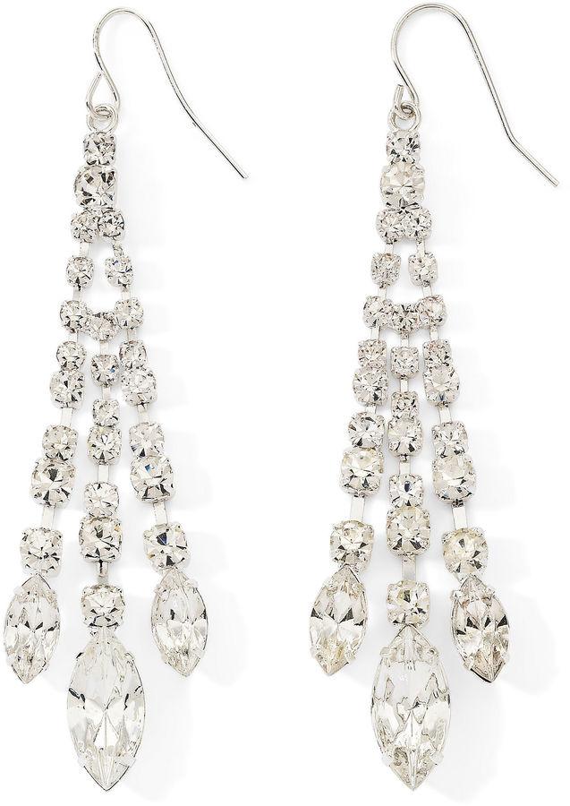 VIESTE ROSA Vieste Rhinestone Chandelier Earrings