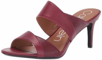 Calvin Klein Women's LYNNAE Heeled Sandal