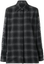 Marcelo Burlon County of Milan check printed shirt