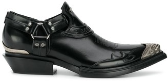 Balenciaga Santiag Jive smooth loafers