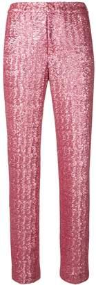 Pt01 sequin trousers