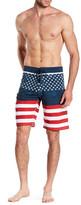Burnside American Flag Boardshort
