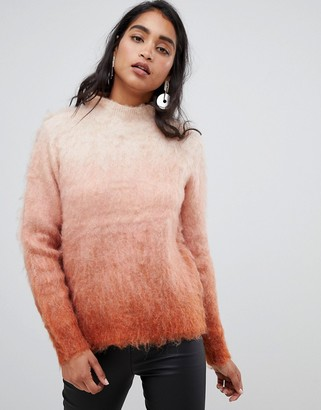 Vila Ombre Knitted Sweater