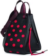 Loewe Hammock Circles Colorblock Satchel Bag