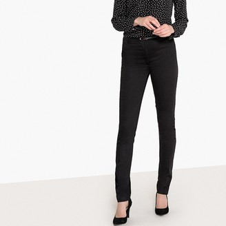 """La Redoute Collections Slim Stretch Cotton Trousers, Length 31.5"""""""