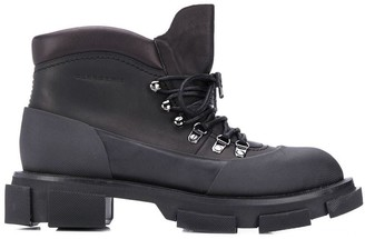 Clergerie Ridged Sole Boots