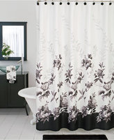 Lenox Bath Accessories, Moonlit Garden Shower Curtain