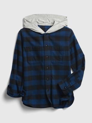 Gap Kids Plaid Shirt Jacket
