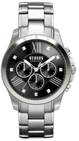 Versus By Versace Chronograph Lion Dark Grey Dial Watch, 44mm