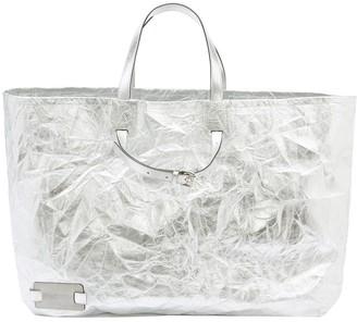 J.W.Anderson Crinkle-Effect Tote Bag