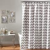 Lush Decor Chevron Shower Curtain