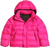 Finger In The Nose Hooded Nylon Down Jacket