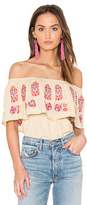 VAVA by Joy Han Lotus Top in Beige. - size XS (also in )