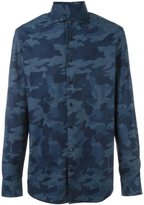 Hackett camouflage print shirt