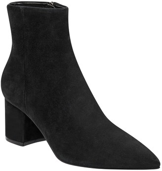 Marc Fisher Jarli Pointy Toe Suede Bootie