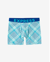 Express printed plaid boxer briefs